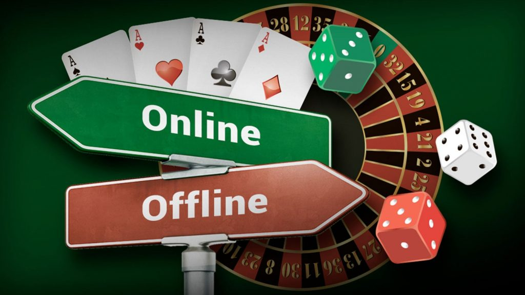 Casino games: from offline to online
